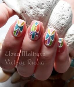 дизайн ногтей Елена Мальцева