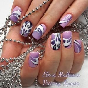 Дизайн ногтей виктори