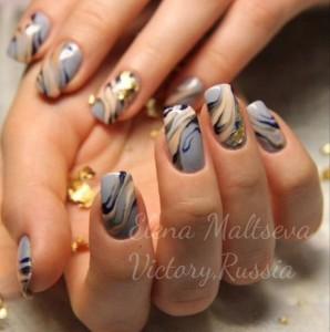 дизайн ногтей гелевыми лаками