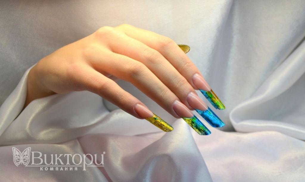 Форма искусственных ногтей пайп