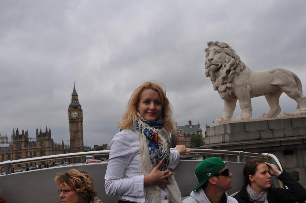 Лондон 2011. Прогулка по Темзе